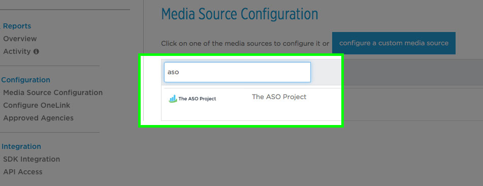 The ASO Project  AppsFlyer Integration Step 2