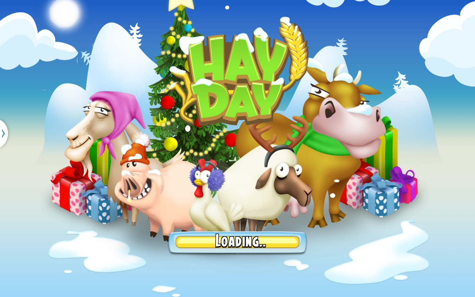 Holiday ASO App Store Optimization | Hay Day Christmas Skin | The ASO Project - App Marketing Optimization Agency