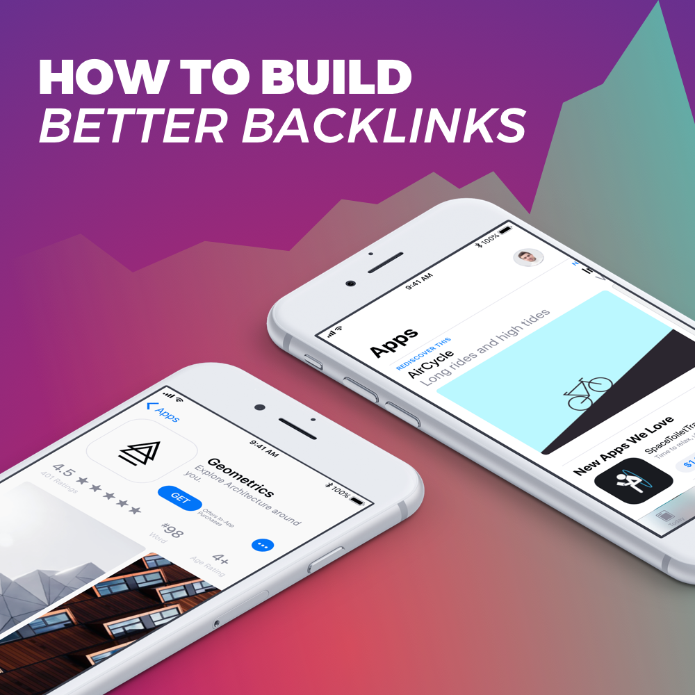 How to build backlinks to increase app store visibility