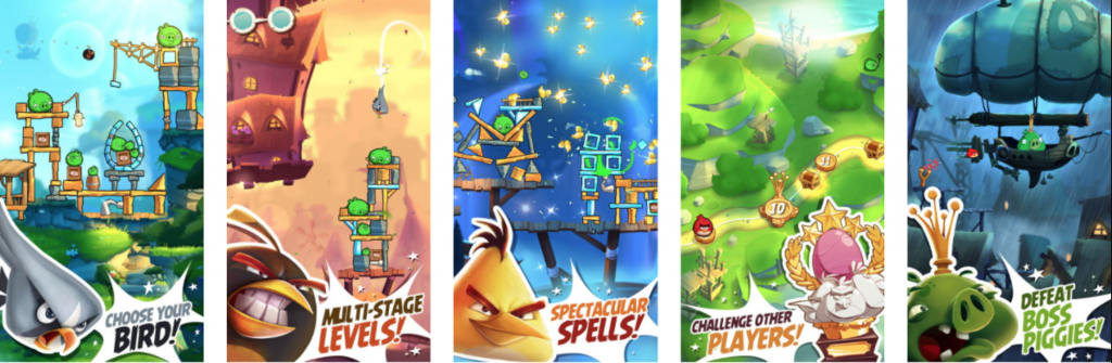 Veritcal or Horizontal Screenshots? Angry Birds by Rovio